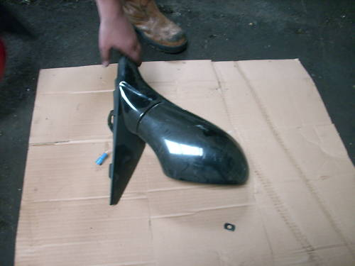 ALFA 166 O/S MIRROR IN BLACK ELECTRIC 98-05